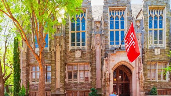 Temple University. Credit: Roman Babakin/Shutterstock.