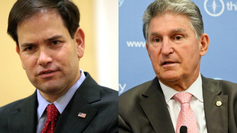 Sens. Marco Rubio (R-FL) and Joe Manchin (D-WV)