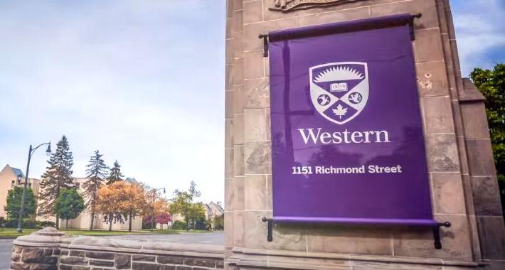 Western University Photo: screenshot YouTube video Western U