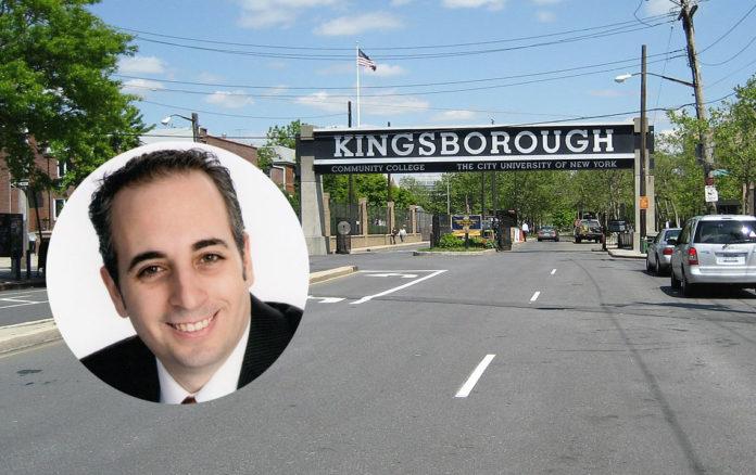 Photo of Kingsborough Community College: josh jackson under the Creative Commons Attribution 2.0 Generic license. Inset: Jeffrey Lax