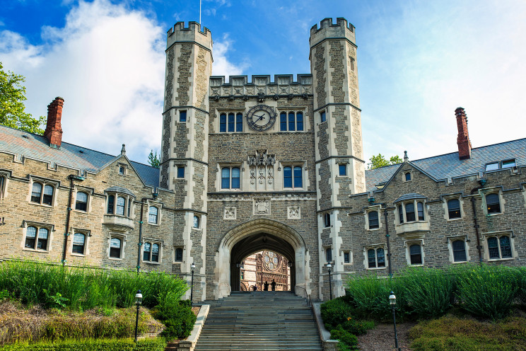 A video for incoming freshman at Princeton University is designed to give them a dose of indoctrination upon arrival at campus. Photo by John Greim/LightRocket